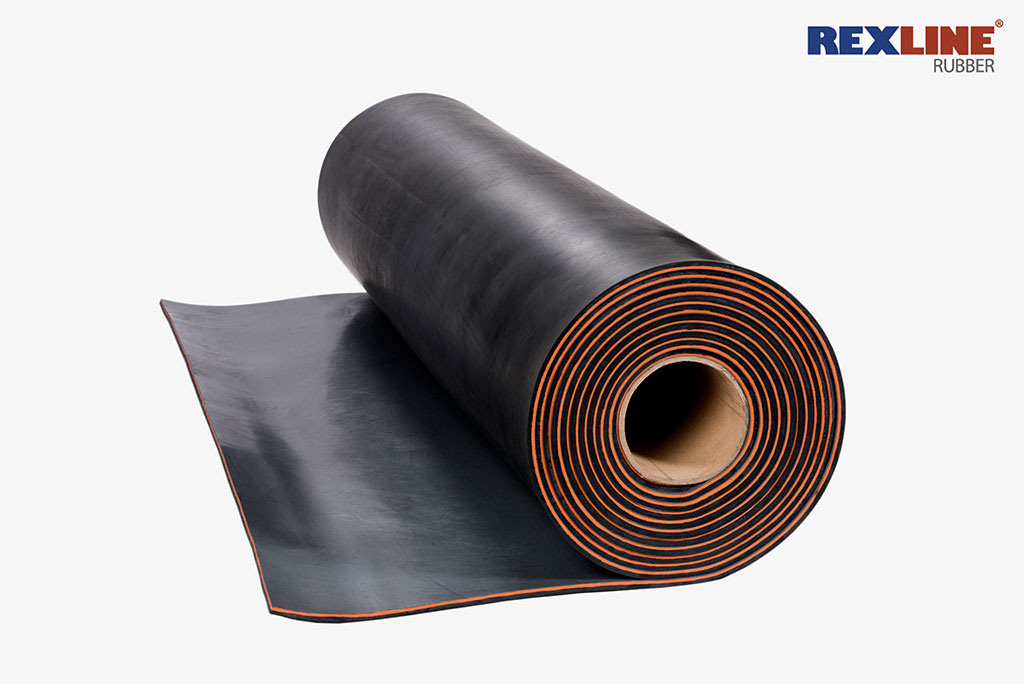 Rexline Rubber Black 60 Duro Choice for wear Protection